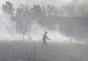 Украинские самолеты осуществили свыше 40 вылетов к очагам пожаров в России