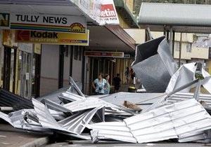 На Австралию обрушился сильнейший за сто лет циклон