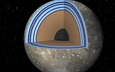 Океан спутника Юпитера имеет структуру сэндвича - ученые