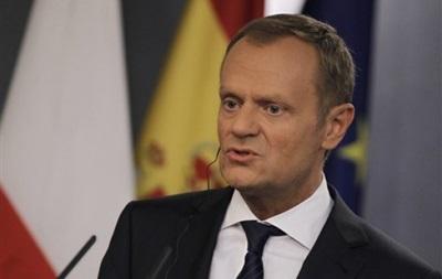 Туск: Венгрия и Польша обеспокоены развитием ситуации в Украине