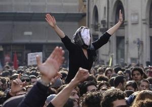 Фотогалерея: Римские каникулы. Итальянские студенты вышли на баррикады против реформы образования