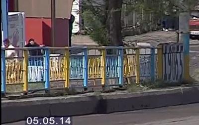 В Черкассах появился  патриотический  мост