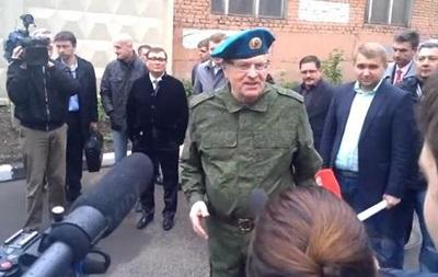 Жириновский отправил для ополченцев Юго-востока Украины военный бронеавтомобиль
