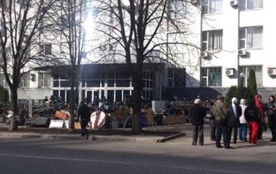 Вооруженные люди захватили райотдел СБУ в Донецке - СМИ