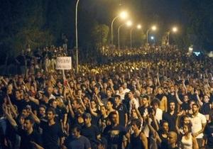 На Кипре 2,5 тысячи человек пикетировали президентский дворец