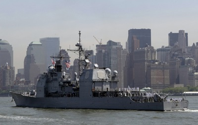 В Черное море зайдет крейсер Vella Gulf