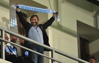 Вадим Новинский постарается приехать на домашний матч Севастополя