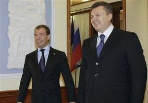 Медведев: Россия обменяла договоренность с Украиной по газу на определенность по флоту