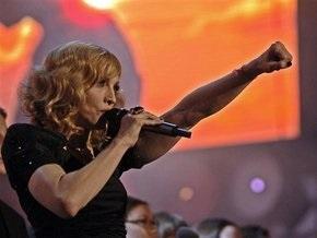 Мадонна обратилась к россиянам нецензурными словами
