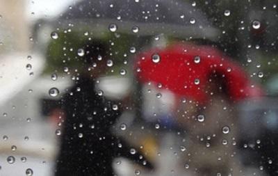 Киевлян в субботу ожидает дождливая погода