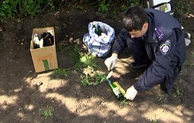 Милиция обнаружила в Харькове сумку с коктейлями Молотова