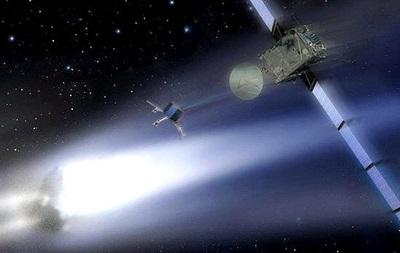 Охотник за кометой  приблизился к добыче