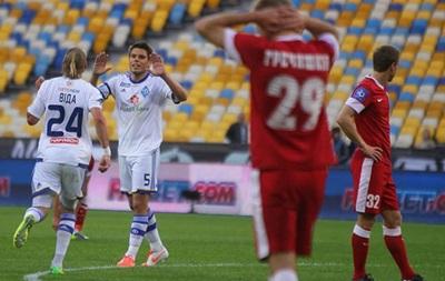 Динамо впервые осталось без медалей чемпионата Украины