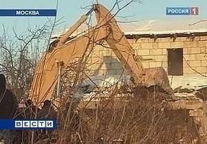 Конфликт вокруг Речника: Общественной палате России удалось отложить снос домов