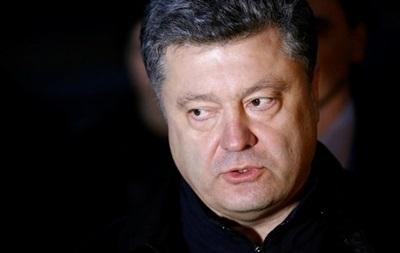 Порошенко не видит альтернативы АТО на востоке Украины