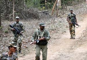 Жертвами индийских маоистов стали 75 полицейских
