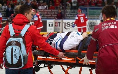 Удар российского хоккеиста вызвал сотрясение мозга у соперника