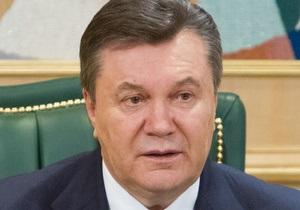 Янукович поблагодарил силовиков за раскрытие дела о взрывах в Днепропетровске