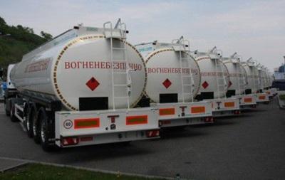В Луганской области вооруженные люди похитили 20 бензовозов с дизтопливом