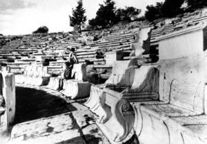 Театр Диониса начинает работу после 2,5 тысяч лет перерыва