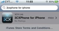 3CX выпускает бесплатный SIP-клиент для Iphone