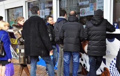 Билеты на финал Кубка Украины стоят от 30 до 100 гривен