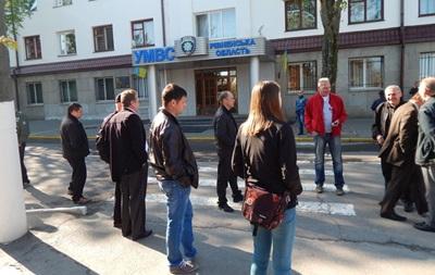 В четверг в Ровно начинается бессрочное пикетирование МВД