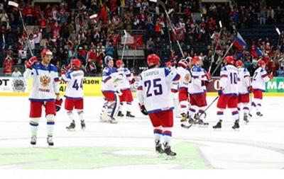 Россия добыла очередную крупную победу на чемпионате мира по хоккею