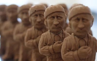 Во Львове начали продавать шоколадного Путина