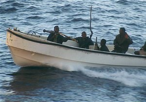 Пираты напали на турецкое судно, есть раненые