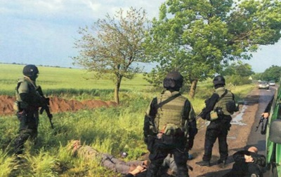 СБУ задержала группу боевиков, направлявшихся из Одессы в Славянск