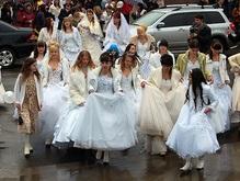 Минск готовится к параду невест