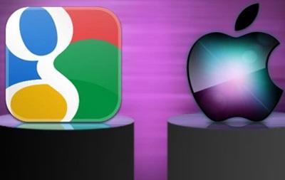 Apple и Google передумали судиться из-за патентов