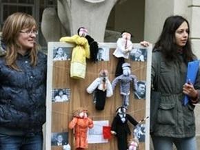 Во Львове прошел флеш-моб Купи своего политика