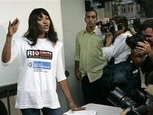 Бразильцы не приняли кровь Наоми Кэмпбелл