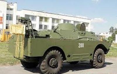 В Луганской области с территории спасательного отряда украли БРДМ