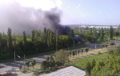 Штурм Краматорска: горит завод, слышны выстрелы