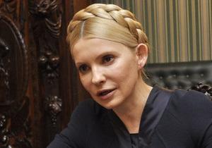Тимошенко призвала Януковича не подписывать законы