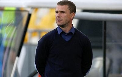 Ребров: Футболисты вроде не плакали после назначения меня главным тренером