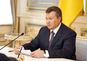 Янукович инициирует вступление Украины в европейское Энергосообщество