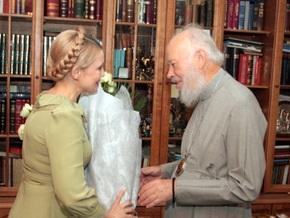 Тимошенко в полночь пришла к митрополиту Владимиру с букетом роз