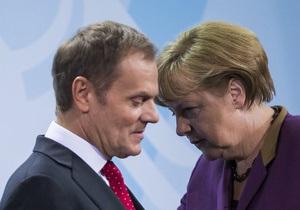 Берлин и Варшава по-разному оценивают ситуацию в Украине