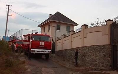 В Днепропетровске сожгли дом Царева