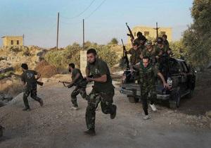 Дамаск запретил артиллерии и авиации атаковать повстанцев на границе с Турцией