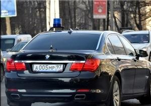 Служебный автомобиль министра финансов РФ сбил пешехода