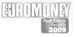 CB Richard Ellis получила ряд премий в мире и в Украине по версии Real Estate Awards 2009 журнала Euromoney