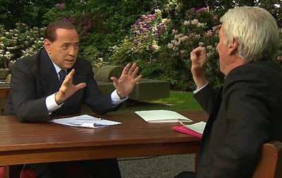 Берлускони сыграл с Меркель шутку Путина