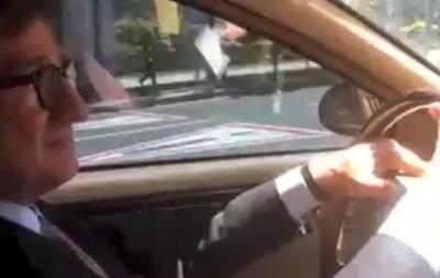 Тарута поучаствовал в акции  гудок  против ДНР