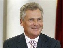 Квасьневский: У Запада большой кредит доверия Тимошенко