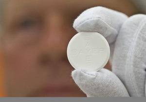 Аспирин предлагают включить в список рекомендованных лекарств от рака